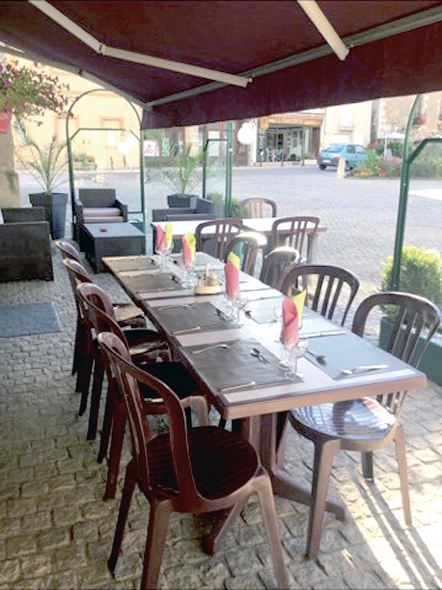 Restaurant A l'heure des saveurs - terrasse